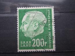 VEND BEAU TIMBRE DE SARRE N° 409 !!! - 1957-59 Federazione