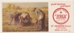 64 - PAU - ZERGA - VERITABLE YAHOURT - ETS CARRERE GEORGES - Blotters