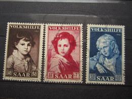 VEND BEAUX TIMBRES DE SARRE N° 316 - 318 !!! - 1947-56 Occupation Alliée