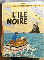 TINTIN  L ILE NOIRE - Tintin