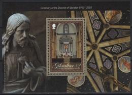 Gibraltar (2010) Yv. Bf. 97  /  Heritage Churches - Eglises - Kerken En Kathedralen