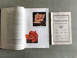 PEPINIERES LOUIS LENS WAVRE NOTRE DAME LEZ MALINES BELGIQUE CATALOGUE GENERAL 1933 - B. Flower Plants & Flowers