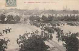 CHALONS Sur MARNE - 15è Chasseurs - Au Drapeau - Châlons-sur-Marne