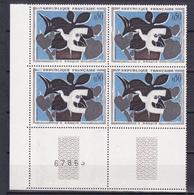 N° 1319 Tableaux De Peintres Modernes: Le Messager De Braque: Beau Bloc De 4 Timbres Neuf Impeccable - Neufs