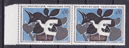 N° 1319 Tableaux De Peintres Modernes: Le Messager De Braque: Belle Paire De 2 Timbres Neuf Impeccable - Neufs