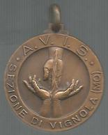 Vignola, AVIS, 20° Fondazione 1954 - 1974, Ae. Gr. 8, Cm. 2,8. - Italia