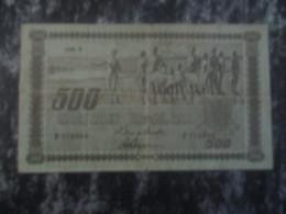 FINLAND 500 MK 1922 - Finland