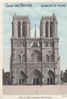 Chromo Notre Dame De Paris Chocolat Van Houten - Van Houten