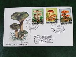 (39041) F.D.C. SAN MARINO 1967 - FDC