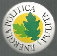 Ambiente, Partiti, Energia Politica Pulita, Cm. 2,5. - Pin's