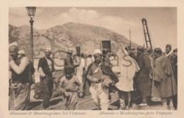 Albania - Albanais E Montenegrins Pres Virpazar - Albania
