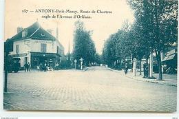 ANTONY - Petit-Massy - Route De Chartres Angle De L'Avenue D'Orléans - Antony