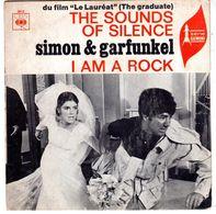 Disque De Simon & Garfunkel - The Sounds Of Silence - CBS 3612 - 1966 - - Filmmusik