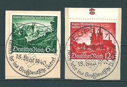 MiNr. 748-749 Briefstücke (b04) - Allemagne