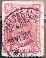 COLUMBUS-2 C-T II-POSTMARK VALPARAISO- CHILE - 1900 - Chile