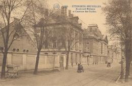 CPA - Belgique - Brussels - Bruxelles - Etterbeek - Boulevard Militaire Et Casernes Des Guides - Etterbeek