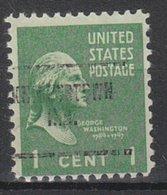 USA Precancel Vorausentwertung Preo, Locals Indiana, Knighrstown 704 - Vorausentwertungen