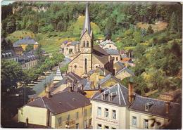 Luxembourg / LAROCHETTE - Vue Partielle Avec église - 1961 - Larochette