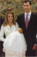 Queen  Letizia Spain  (  Rood 107 - Familles Royales
