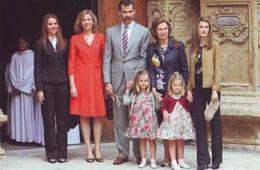 Queen  Letizia Spain  (  Rood 109 - Familles Royales