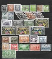 AMERIQUE DU SUD - Poste Aérienne Années 31  - 7 Pays - 30 Timbres **  - Cote YT : 15 Euros - Timbres