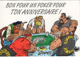 """Thématique """"BD"""". Carte Neuve Litteul Kevin De COYOTE. Editions Impact 2000. Fluide Glacial 1995. Carte N° 19 - Bandes Dessinées"""