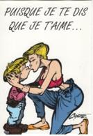 """Thématique """"BD"""". Carte Neuve Litteul Kevin De COYOTE. Editions Impact 2000. Fluide Glacial 1995. Carte N° 09 - Bandes Dessinées"""