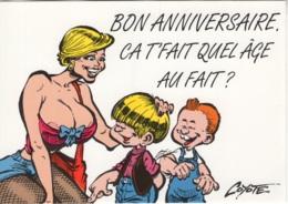 """Thématique """"BD"""". Carte Neuve Litteul Kevin De COYOTE. Editions Impact 2000. Fluide Glacial 1995. Carte N° 11 - Bandes Dessinées"""