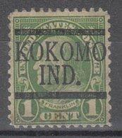 USA Precancel Vorausentwertung Preo, Locals Indiana, Kokomo 632-L-2 E - Vereinigte Staaten