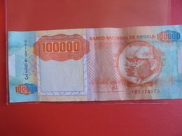 ANGOLA 100.000 KWANZAS 1991 CIRCULER - Angola