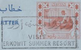 Soudan 1960. Aérogramme Ayant Voyagé Pour L'Allemagne, Avec Correspondance Tisserand. Rare - Textile