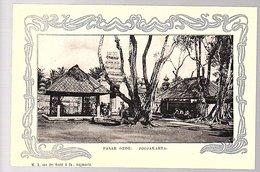 Netherlands Indies ± 1900 Jogjakarta Pasar Gede  (18-13) - Indonesia
