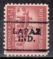USA Precancel Vorausentwertung Preo, Locals Indiana, Lapaz 701 - United States
