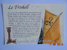 Legendes De Bretagne. Le Triskell. Texte Yan Brekilien. Pastor C/999004 - Fairy Tales, Popular Stories & Legends