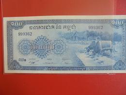CAMBODGE 100 RIELS 1956-72 PEU CIRCULER/NEUF - Cambodia