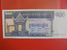 CAMBODGE 100 RIELS 1963-72 PEU CIRCULER/NEUF - Cambodia