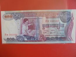 CAMBODGE 100 RIELS 1973 PEU CIRCULER/NEUF - Cambodia