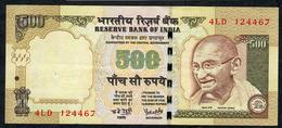 INDIA P99d1 500 RUPEES 2008 #4LD Sign.19.  VF - India
