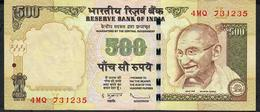 INDIA P99g3 500 RUPEES 2011 #4MQ Sign.20 LETTER L   VF - India