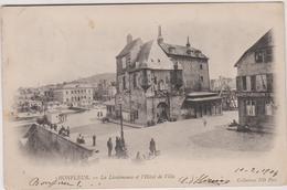 14 Honfleur La Lieutenance Et L'hotel De Ville - Honfleur