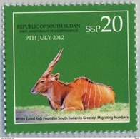 SOUTH SUDAN 2nd Issue = Süd-Sudan 20 SSP Wildlife SOUDAN Soedan - Zuid-Soedan