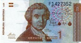 Billet De 1 Dinar 1991 De La Croatie Neuf - Croatia