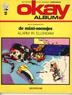 Okay Album 2 - De Mini-mensjes - Alarm In Ellendam (1ste Druk) 1972 - De Minimensjes