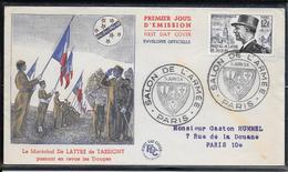 FDC 1954 - 982  Maréchal De Lattre De Tassigny - FDC