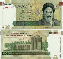 IRAN       100,000 Rials       P-151[d]       ND (2018)      UNC  [ Sign. 39 ] - [ 100000 ] - Iran