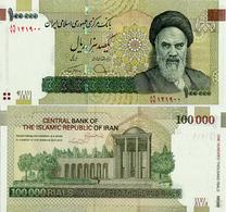 IRAN       100,000 Rials       P-151[e]       ND (2019)      UNC  [ Sign. 40 ] - [ 100000 ] - Iran