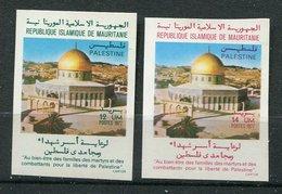 Mauritanie ** ND N° 377/378 - Journée De La Palestine - Mauritania (1960-...)