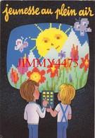 CPM - JEUNESSE AU PLAIN AIR - Edit. Spécialfab Paris 1985 - Collector Fairs & Bourses