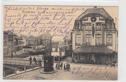 Courtrai. Pont De La Lys Et Les Tours Du Broel. - Kortrijk