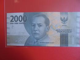 INDONESIE 2000 RUPIAH 2016 PEU CIRCULER - Indonesia